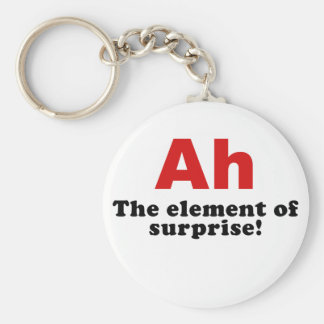 Ah the Element of Surprise Keychain