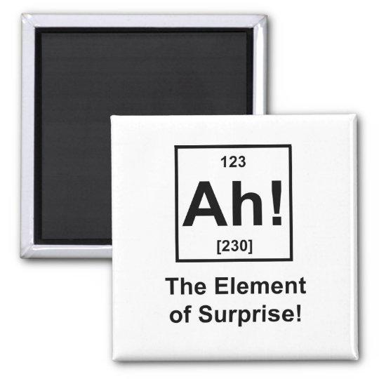 Ah! The Element of Surprise Magnet