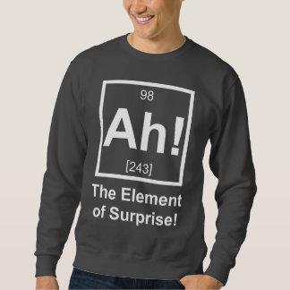Ah the Element of Surprise Periodic Element Symbol Sweatshirt