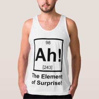Ah the Element of Surprise Periodic Element Symbol Tank Top