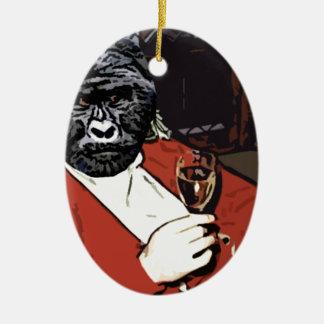 Ah the Gorilla goodlife Ceramic Ornament