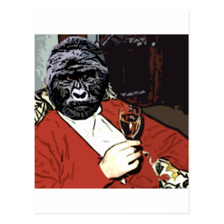 Ah the Gorilla goodlife Postcard