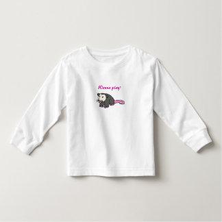 AH- Wanna play? possum shirt