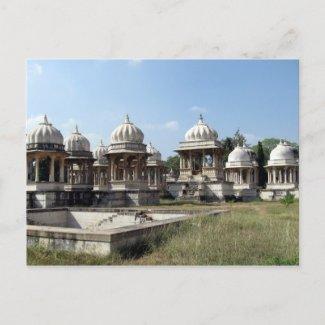 Ahar Cenotaphs postcard