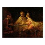 Ahasuerus , Haman and Esther, c.1660 Postcards