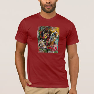 """""""Ahead To The Past"""" T (Large print) T-Shirt"""