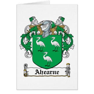 Ahearne Family Crest Card