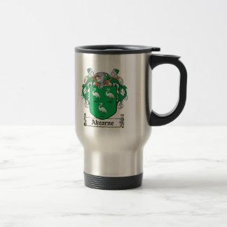 Ahearne Family Crest Travel Mug