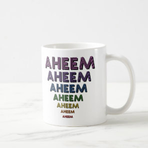Aheem Coffee Mug