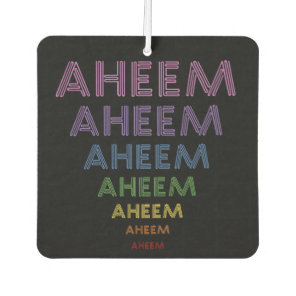 Aheem mantra for woman car air freshener