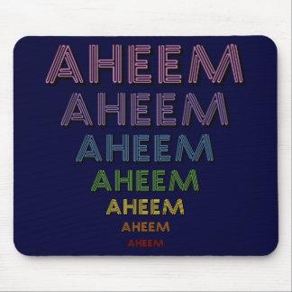 Aheem mantra mouse pad
