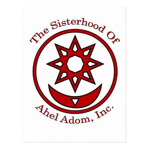 Ahel Adom Postcard