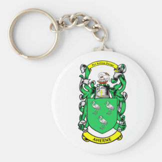 AHERNE Family Crest Keychain