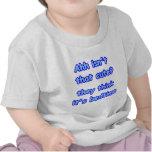 Ahh no es esa camiseta del lindo-Niño
