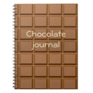 ahhh chocolate notebook
