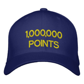 AHHH! EMBROIDERED BASEBALL CAP