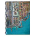 Ahhh Venice Spiral Note Book
