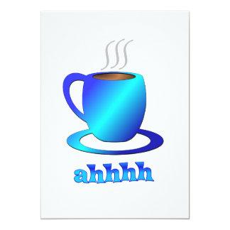 Ahhhh del café comunicado personalizado