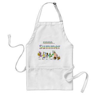 ¡Ahhhh! Delantal del verano