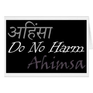 Ahimsa Card