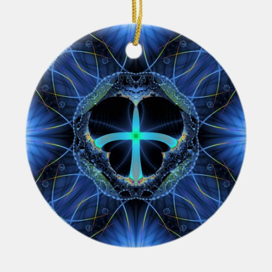 'Ahimsa' Ceramic Ornament