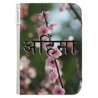 Ahimsa Cherry Blossom Kindle Cover