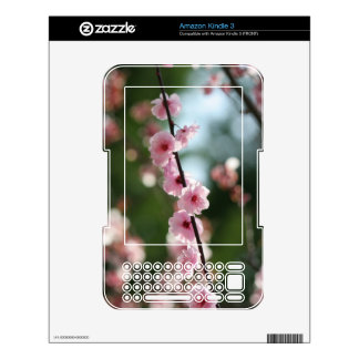 Ahimsa Cherry Blossom Decals For The Kindle