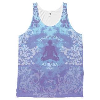 Ahimsa - Do No Harm - Peace (XL) All-Over Print Tank Top