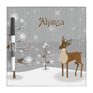 Ahimsa Holiday Dry Erase Whiteboards