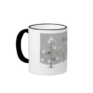 Ahimsa Holiday Reindeer Mug