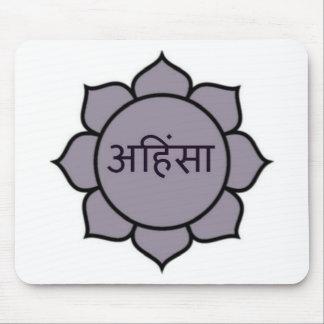ahimsa (loto) .jpg mousepad