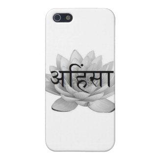 Ahimsa Lotus Flower Cover For iPhone SE/5/5s