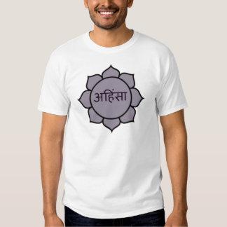 ahimsa (lotus).jpg shirt