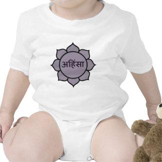 ahimsa (lotus).jpg baby bodysuits