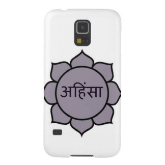 Ahimsa Lotus Purple Cases For Galaxy S5