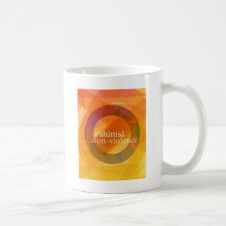 ahimsā - no-violencia taza de café