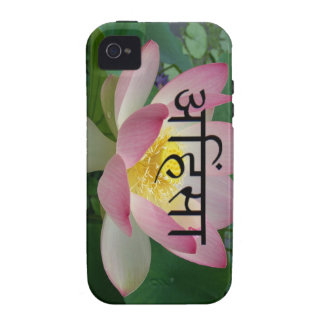 ahimsa vegan Case-Mate iPhone 4 cover