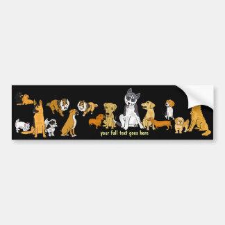 AHL- A Neighborhood Dogs Group Bumper Sticker