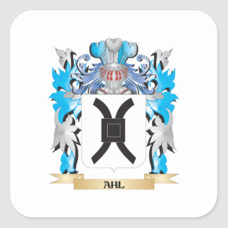 Ahl Coat Of Arms Sticker