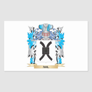 Ahl Coat Of Arms Rectangular Stickers