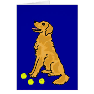 AHL- Golden Retriever Greeting or Notecards Greeting Card
