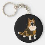 AHL- Shetland Sheepdog Keychain