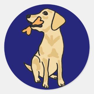AHL- Yellow Labrador Puppy Sticker