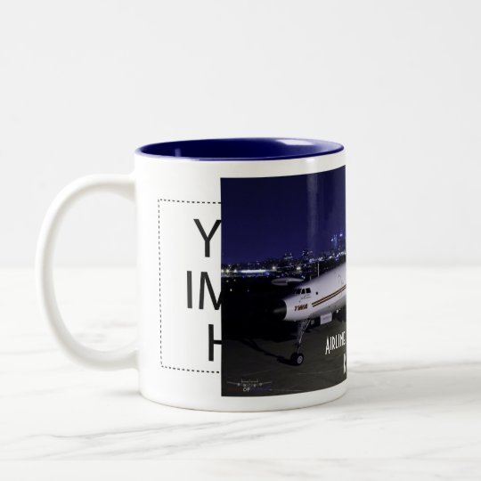 AHM Two-Tone COFFEE MUG