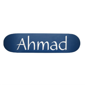 Ahmad Name Skateboard