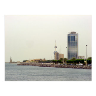 Ahmad tower, Kuwait city Postcard