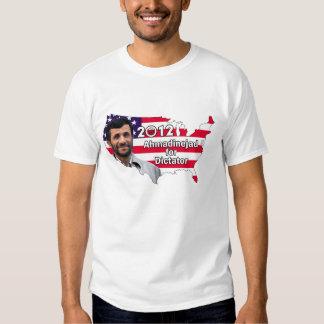 Ahmadinejad for Dictator 2012 - Men's T Tee Shirt