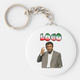 Ahmadinejad - loco llavero