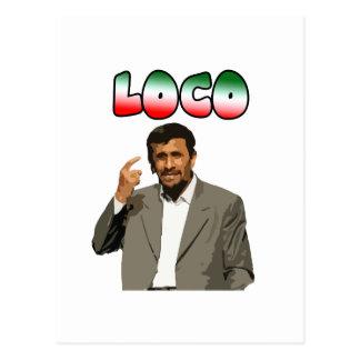 Ahmadinejad - loco postal