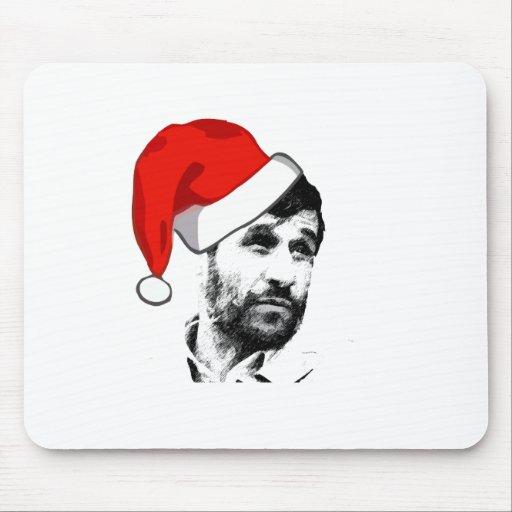 ahmadinejad - santa mouse pad